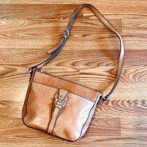 Etienne Aigner Cognac Leather Bag